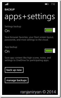 ranjaniryan Cara Backup Data pada Windows Phone 8.1 4