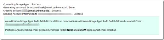 Acount UNIKOM Google Apps for Education 9