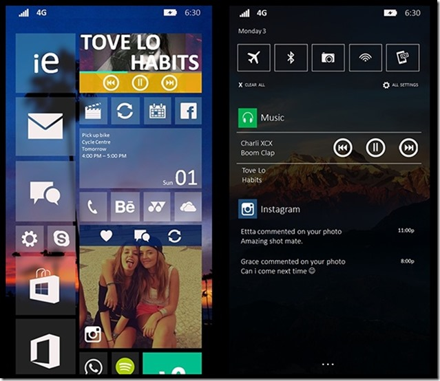 Windows Phone 10 Design ranjaniryan 3