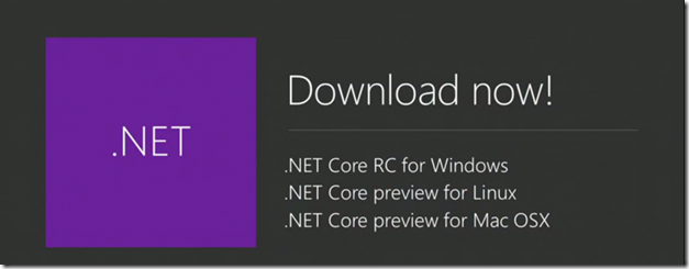 NET Preview for Linux and MAC