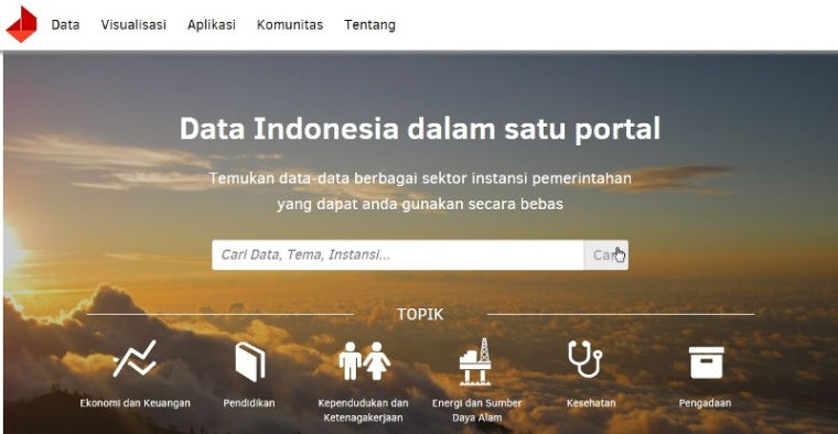 Portal Data Indonesia