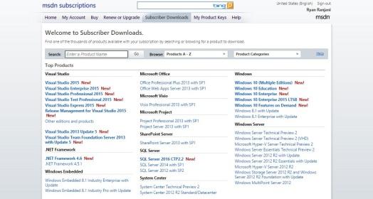 Windows 10 Pro MSDN