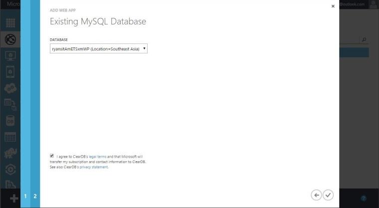 Deploy Joomla Using Windows Aazure -4