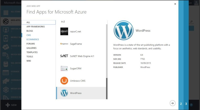 Deploy WordPress With Azure - 2