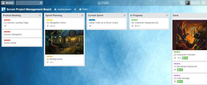 Project Managemen Tools dengan Trello - board trello